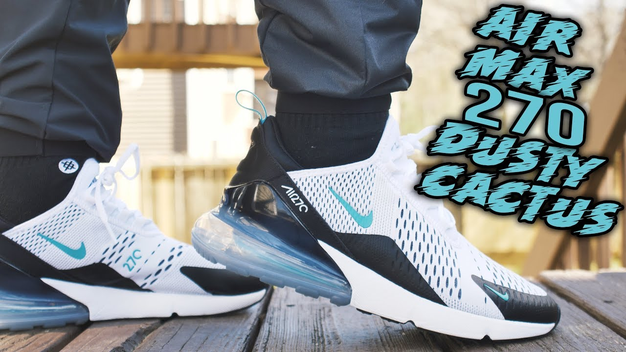AIR MAX 270 DUSTY CACTUS REVIEW AND ON FOOT !!!