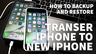 Transfer iPhone to new iPhone – iPhone Restore with iTunes - Backup iPhone to New iPhone iTunes