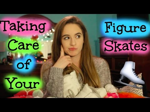Tips on Taking Care of Your Figure Skates!