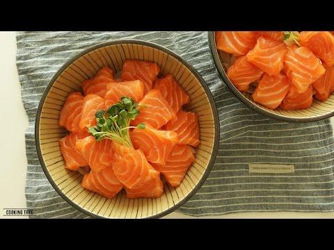 연어보푸라기밥케이크