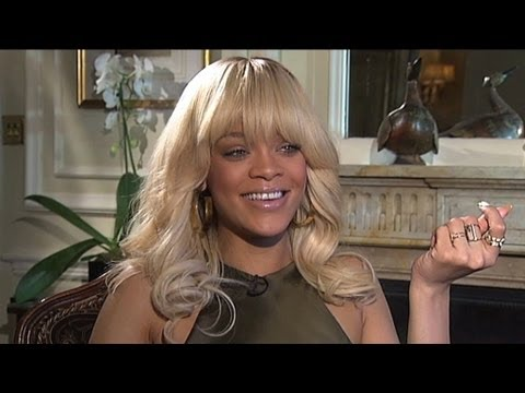 Rihanna on her accent