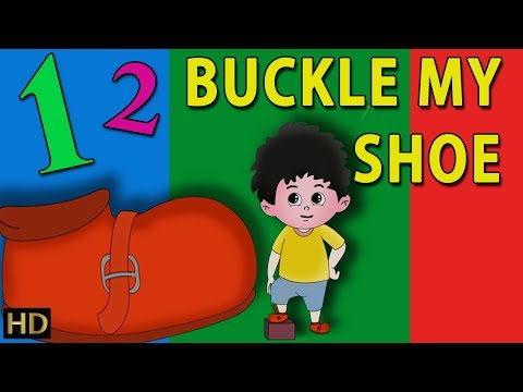 One Two Buckle My Shoe & More English Nursery Rhymes For Children | Kids Songs