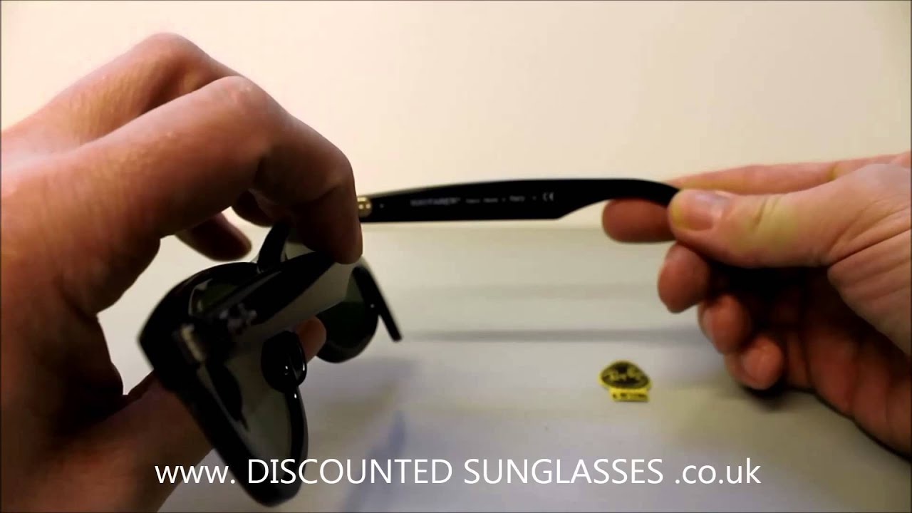 5ef0f5a97d Review Ray Ban 2140 901 50 - YouTube