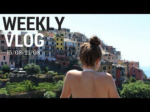 WEEKLY VLOG: roadtrip en italie l Marianealex