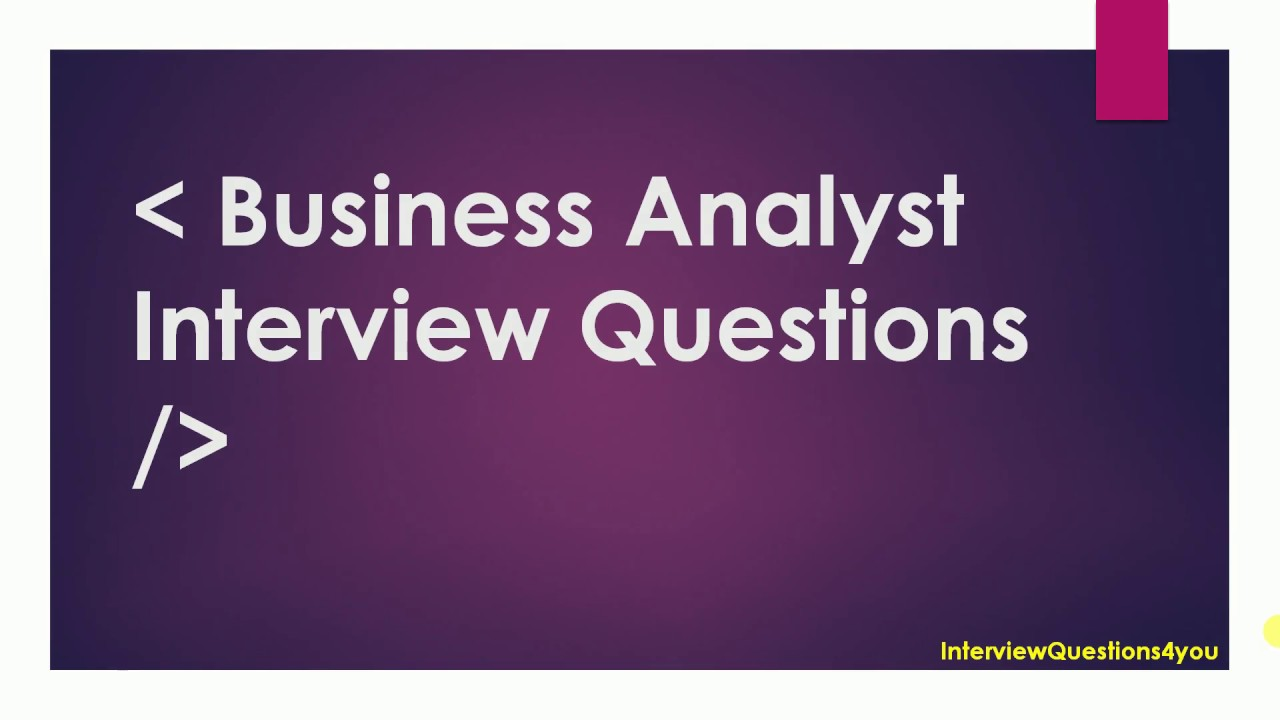 BI Interview Question | Business Intelligence Interview Questions