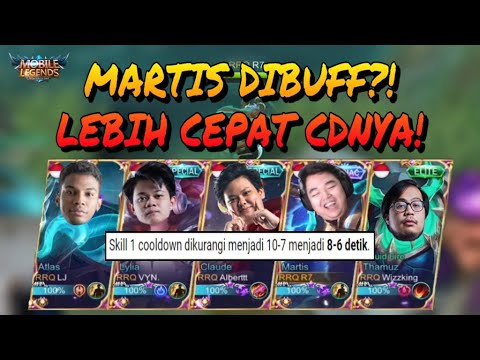 MARTIS DIBUFF?! LANGSUNG