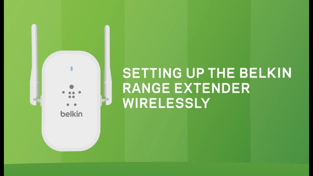 Belkin Knowledge Articles - Setting up the Belkin Wi-Fi Range
