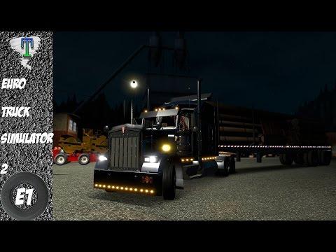 Euro Truck Simulator 2: Kenworth W900 (ETS2) American Mods