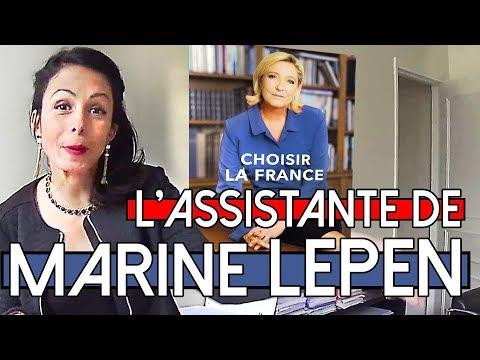 Après l'annonce des résultats Marine Le Pen prend la fuite