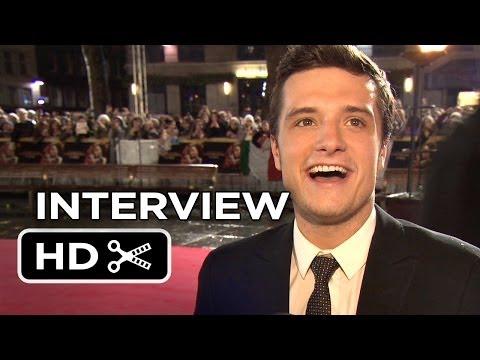 The Hunger Games: Catching Fire - London Premiere Interview - Josh Hutcherson (2013) HD