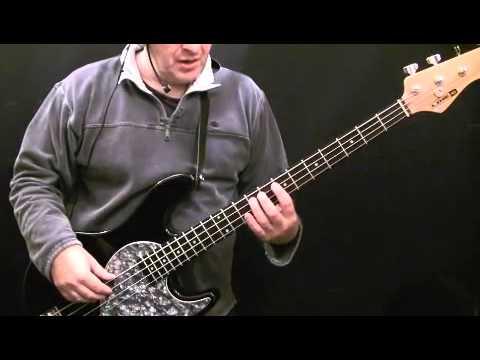 How To Play Bass Guitar To Purple Haze - Jimi Hendrix - Noel redding