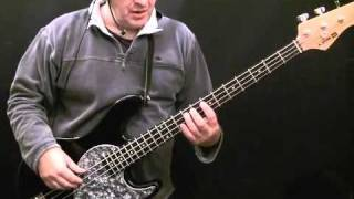 How To Play Bass Guitar To Purple Haze - Jimi Hendrix - Noel redding
