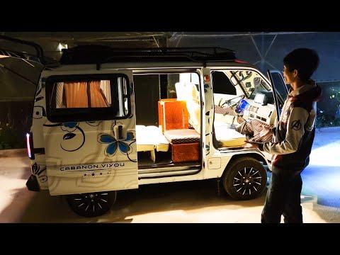 """Độ xe Suzuki Super Carry Van thành """"minihome"""" độc, lạ"""
