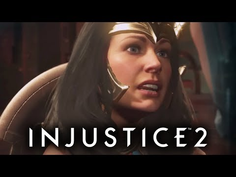 WONDER WOMAN IN THE SEARCH OF RESPECT!   Injustice 2 #5