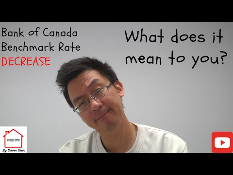 Bank Of Canada Qualifying Rate Decrease Aug 2020 And What It Means To You