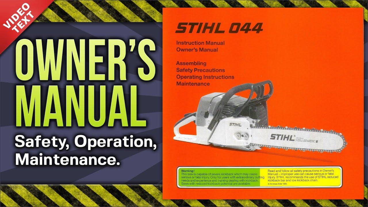 stihl 011 av manual user guide manual that easy to read