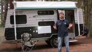 Australian Caravan+RV Millard Longreach Offroad Caravan Test