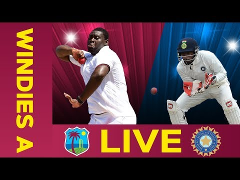 🔴LIVE West Indies A Vs India A | Day 1 | Second Test