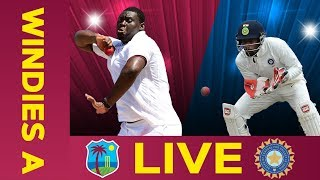 ????LIVE West Indies A vs India A | Day 1 | Second Test