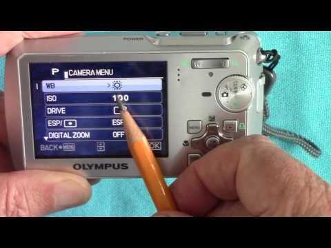 Olympus MJU 760 Compact Digital Camera
