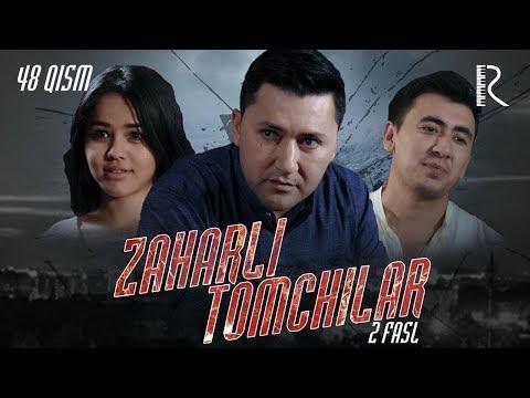 Zaharli tomchilar (o'zbek serial) | Захарли томчилар (узбек сериал) 48-qism #UydaQoling