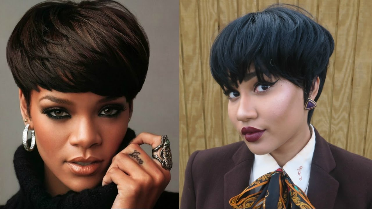 haircut style for short hair 16 rihanna inspired cut wig 8319 | maxresdefault