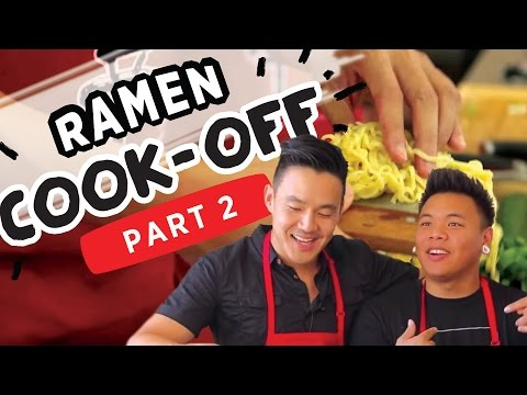 Most INTENSE Ramen Cookoff!