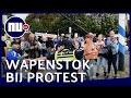 Politie gebruikt wapenstokken bij onrustig protest in den haag nu nl mp3