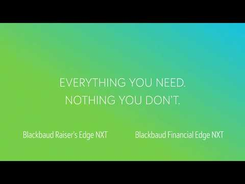 Keep Your Organization Connected With Blackbaud's NXT Solution Line