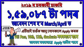 Job Reminder Session_01 // Total 1.6 Lakh Recruitment - Apply Before April