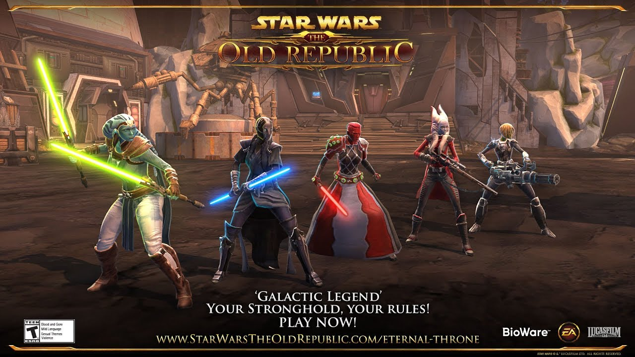 Star Wars The Old Republic Galactic Legend Launch Trailer