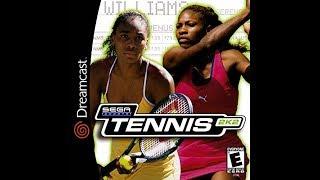 Tennis 2K2 (2001) - Sega Dreamcast