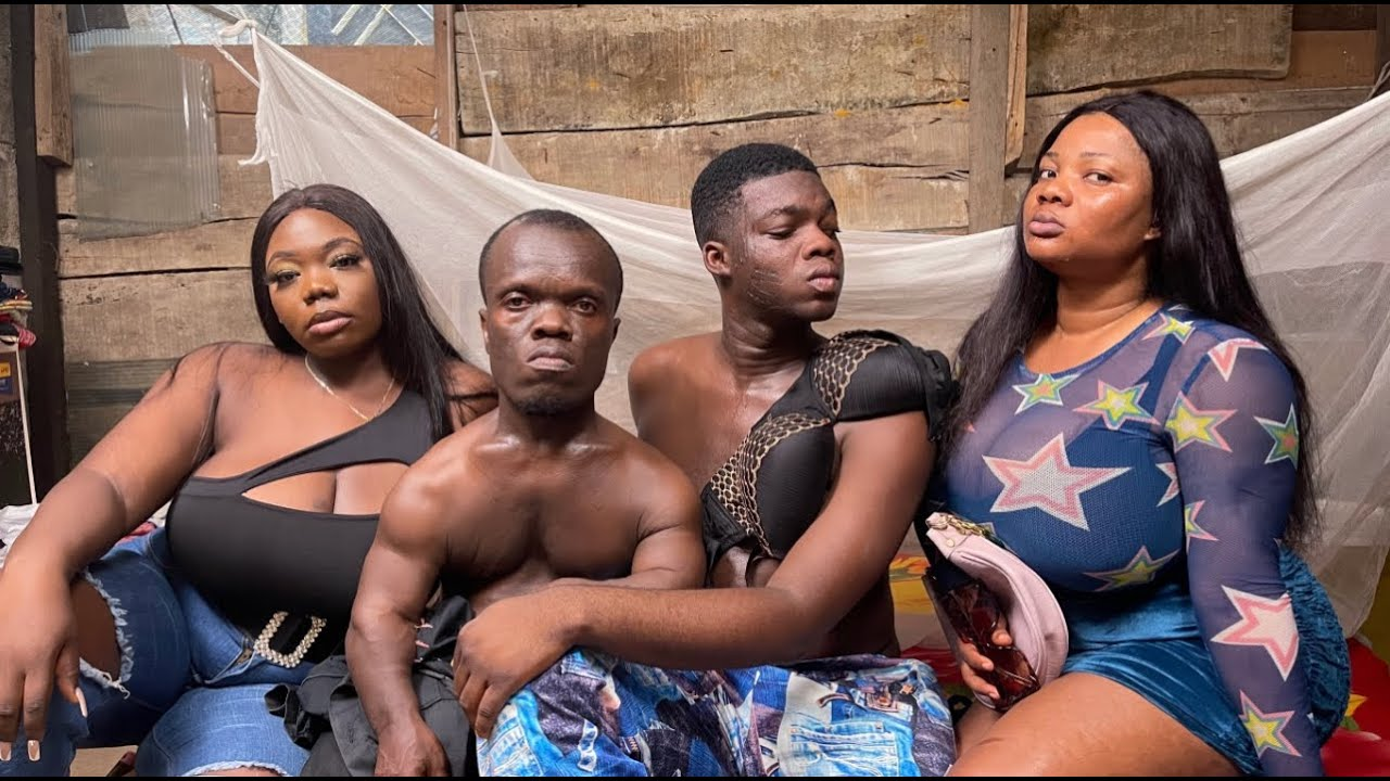 The Cute Abiola – Small Stout And Laderin Are Doing Foursome
