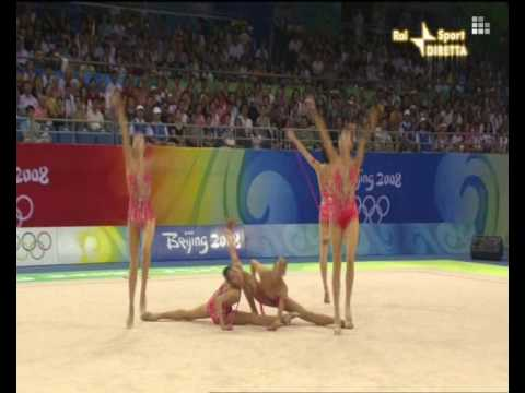 China 5 rope 2008 final olympic games Beijing