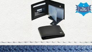 Видео обзор стильного мужского бумажника Dr.Bond M61
