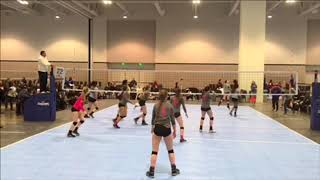 Amber Blount #26- volleyball highlights