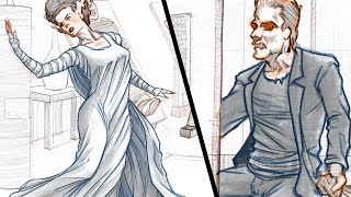 How to Draw DYNAMIC CLOTH/CLOTHING - (Collab with Proko!)