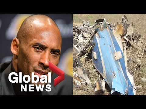Kobe Bryant death: NTSB releases new video from the crash site