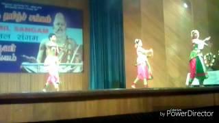 nandhi gowthuvam-barathanatyam group dance in delhi tamil sangam/sri saradha natyalaya gingee mani/