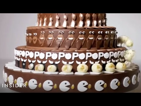 Look What Happens When You Spin This Cake