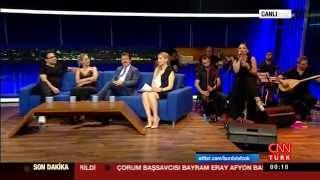 Deniz Toprak - Cnn Türk - Diz Dize  Burada Laf Çok