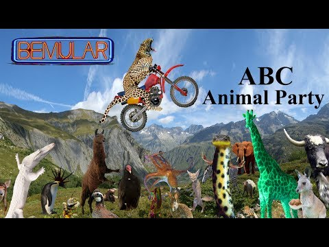 Bemular - ABC Animal Party (for kids AND adults!)
