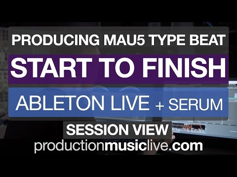Ableton Live 9 Beginner Tutorial - Making a Track Start To Finish 2018 - Free Download