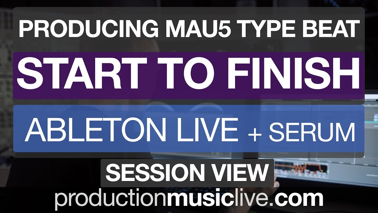 Ableton Live Beginner Tutorial - Making a Track Start To Finish - Free Download