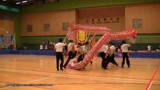 第21屆全港公開學界龍獅藝錦標賽:中學競速舞龍組 - (2)