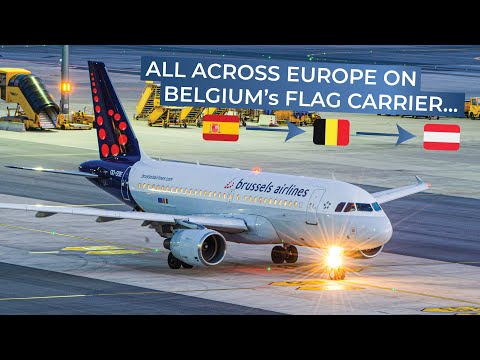 TRIPREPORT | Brussels Airlines (ECONOMY) | Madrid - Brussels - Vienna | Airbus A319/A320