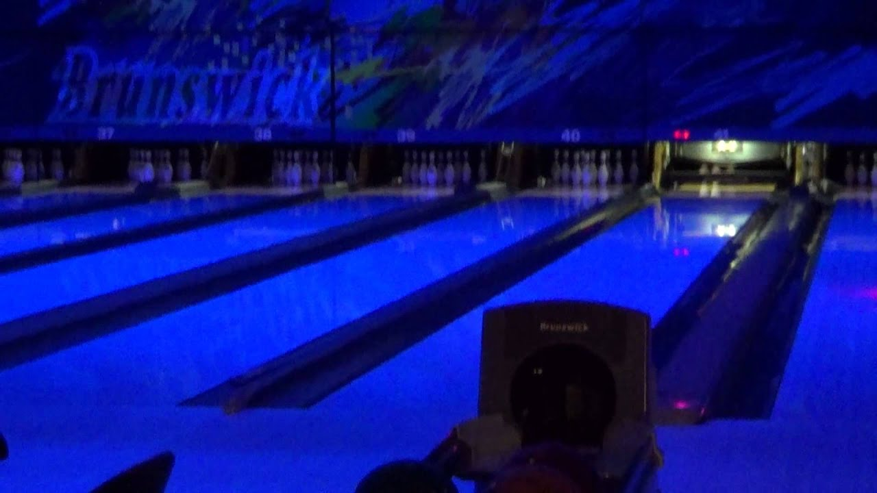 Bowling At Brunswick Cosmic From 7 21 13 4 5 Youtube