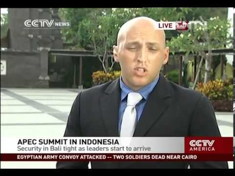 Crossover  APEC summit in Indonesia