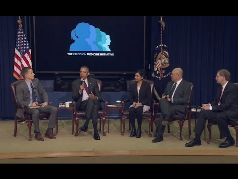 The White House Hosts a Precision Medicine Initiative Summit