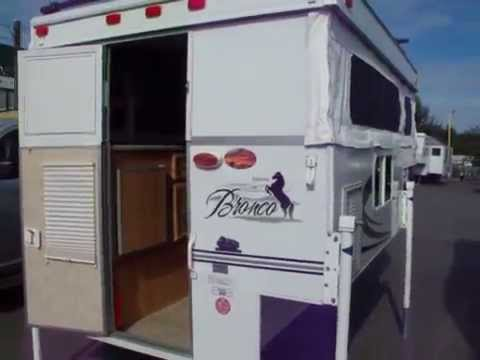2009 Palomino Bronco 600 Truck Camper For Sale Youtube